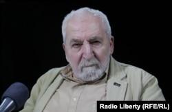 Президент Фонда защиты гласности Алексей Симонов. Фото RFE/RL