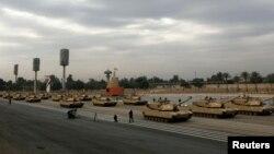 إستعراض للجيش العراقي في ذكرى تأسيسه الـ 91