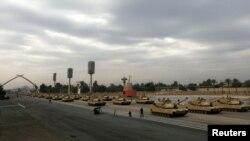 استعراض عسكري بمناسبة يوم الجيش