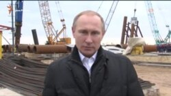 Путин лично обещает Керченский мост (видео)