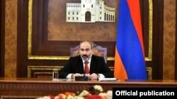 Премьер-министр Армении Никол Пашинян, 13 декабря 2019 г.