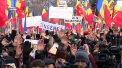 Десятки тысяч людей вышли на улицы Кишинева (видео)