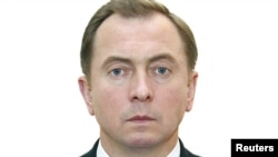Belarus Foreign Minister Uladzimer Makei