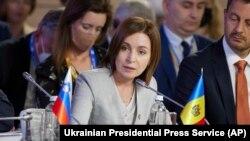 Președinta R. Moldova Maia Sandu participă la summitul Platformei Crimeea în Kyiv, 23 august 2021