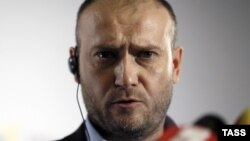 """Лидер украинского ультранационалистического движения """"Правый сектор"""" Дмитрий Ярош."""