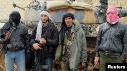 Припадници на сириската ослободителна армија