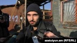 Armenia - Famous pianist Tigran Hamasian in Gyumri, 27 Feb, 2016