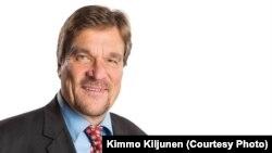Депутат парламента Финляндии, вице-президент Европейского совета Киммо Кильюнен.