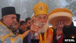 Crnogorska pravoslavna crkva obilježava Božić, januar 2010. foto: Savo Prelević