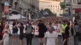Протест №28. У Сербії мітингують проти міністра фінансів, якого звинуватили у плагіаті (відео)