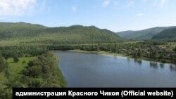 Река Красный Чикой в Забайкалье