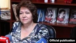 Armenia - Deputy parliament speaker Hermine Naghdalian