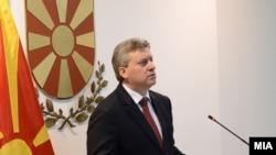 Претседателот на Република Македонија Ѓорге Иванов.