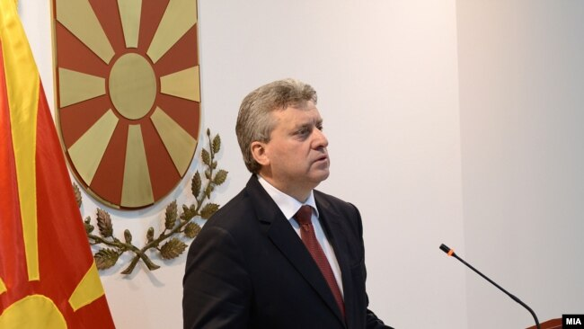 Македониянын президенти Георги Иванов.