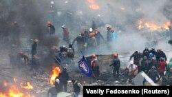 Майдан Незалежності. Київ, 20 лютого 2014 року