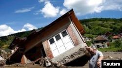 Prizor iz sela Krupanj u Srbiji, 19. maj