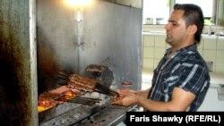 مطعم عراقي في احدى العواصم الاوروبية