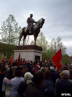 Памятник черногорскому королю Николе в Цетинье