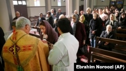 مراسم کریسمس در کلیسای کلیسای آشوری-کلدانی تهران در دی ماه ۹۷