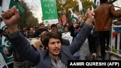 İslamabadda Hindistana qarşı etiraz