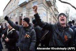 Донецк, 23 февраля 2014 года