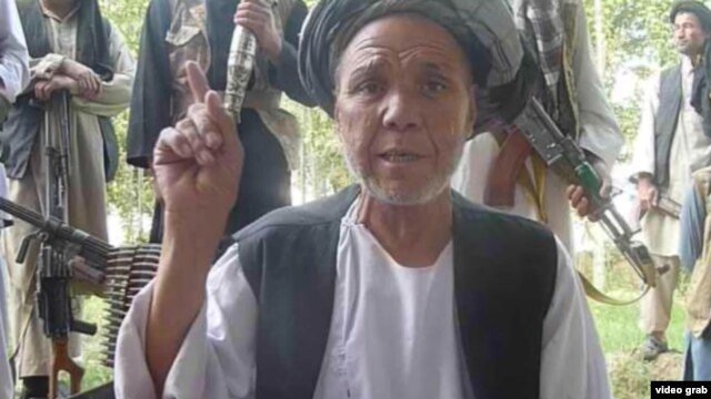 An ethnic Turkmen who is reportedly leading a militia against the Taliban in Afghanistan's Jowzjan Province