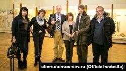 Британские ученые посетили музей-заповедник «Херсонес Таврический», 12 февраля 2017 года