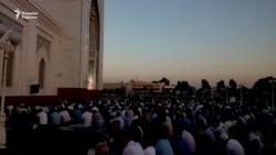 Мусульмане Узбекистана прочитали хайит намаз