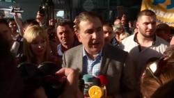 «Я приехал не мстить и не наказывать»: Саакашвили вернулся в Украину (видео)