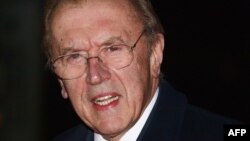 British journalist and TV personality David Frost in a 2009 photo