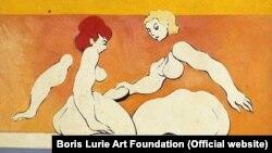 """Борис Лурье, """"Расчлененная женщина"""", 1955"""