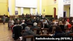 Презентация книги воспоминаний о Революции достоинства «Майдан от первого лица. Региональное измерение» в Киеве