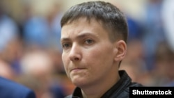 Ukrainian parliamentary deputy Nadia Savchenko (file photo)