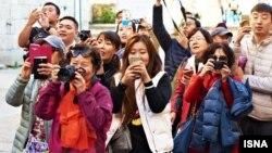 Туристы из Китая. Иллюстративное фото.
