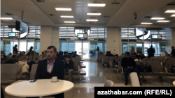 Aşgabadyň halkara aeroporty, ýanwar, 2018