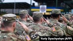 Ushtarë amerikanë.