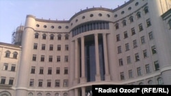 Здание Национальной библиотеки Таджикистана