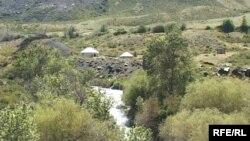 Горы в Алматинской области. Иллюстративное фото.