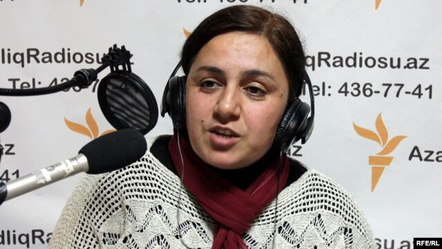 Malahat Nasibova, head of the Democracy and NGO's Development Resource Center (file photo)