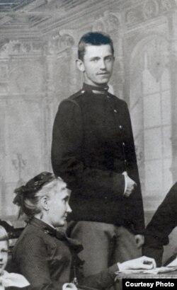 Софія з Фредрів, графиня Шептицька, Станіслав Шептицький. Краків, 1887 рік. Фото з колекції «Фундація роду Шептицьких»