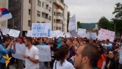 Protesti u Banja Luci protiv lošeg stanja u RS