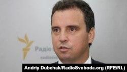 Украинаның бұрынғы экономика министрі Айварас Абромавичус.
