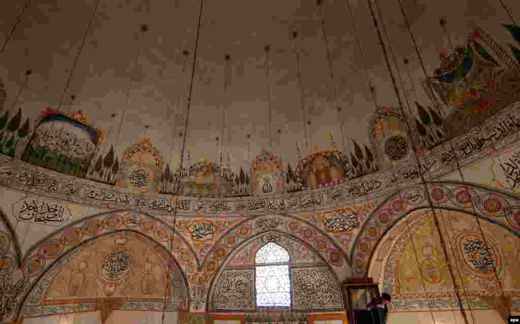 The dome of the Hadum Mosque