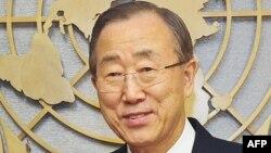Генералниот секретар на ОН Бан Ки Мун