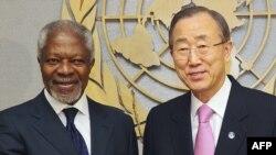 Кофи Анан и Бан Ки Мун