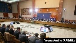 Predsednik Tomislav Nikolić na sastanku sa ambasadorima