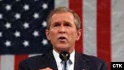 جرج بوش، رییس جمهوری آمریکا. (عکس:CTK)