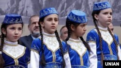 Crimean Tatars say Russia has subjected them to abuse. (file photo)