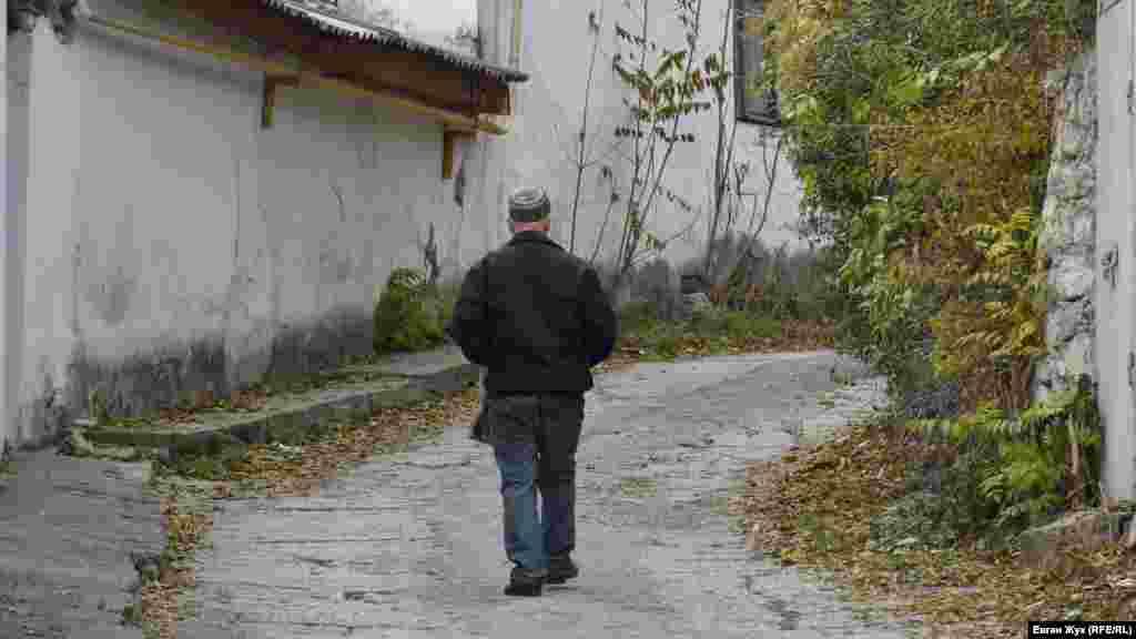 На звивистій вулиці старого міста