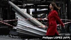 """Pariz poslije protesta """"Žutih prsluka"""" 18. marta"""